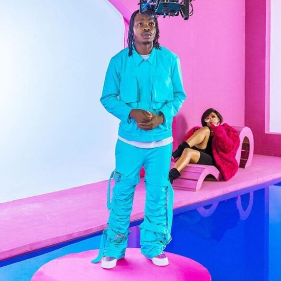 Naira Marley signs first female artiste to Marlian Music