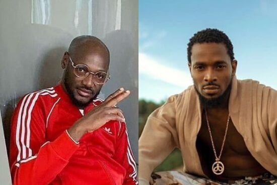 2Baba and Dbanj