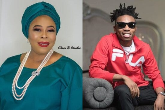 Actress Toyin Adewale opens up on her relationship with son Mayorkun