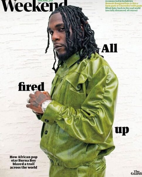 See what profession Burna Boy would have been in if not music!