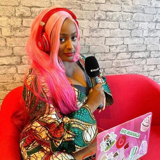 DJ Cuppy goes on a date with mysterious man