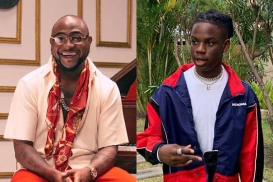 Davido reacts as he is accused of bullying Rema