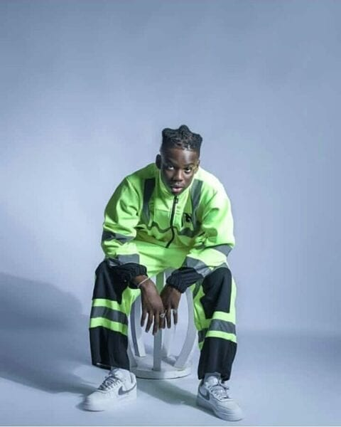 Rema apologizes to his friend for stealing his laptop