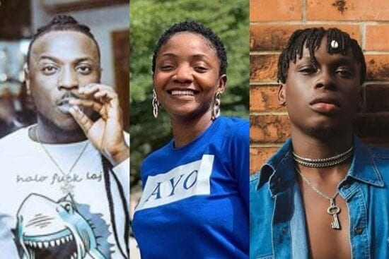 Top 10 Nigerian artists who are Amazing songwriters