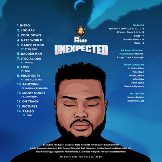 unexpected-tracklist