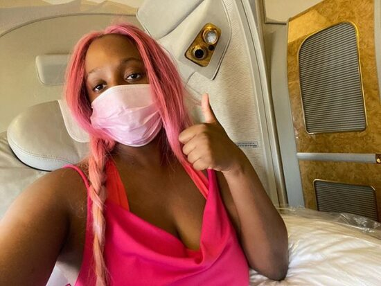 DJ Cuppy joins #EndSars Protest physically, explains why