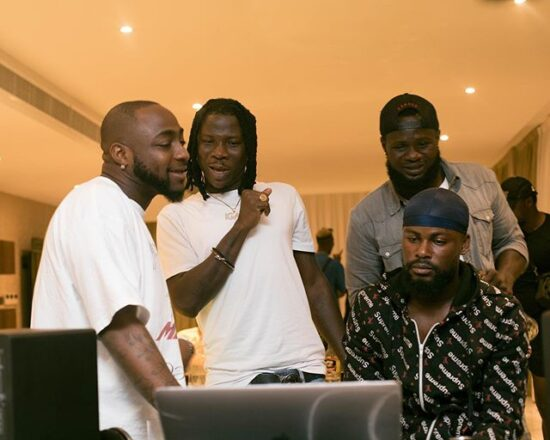 Davido reveals upcoming collaboration with Stonebwoy