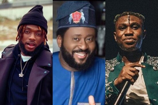 Zlatan, Dremo, others react to the video of Desmond Elliot calling for Social media regulation