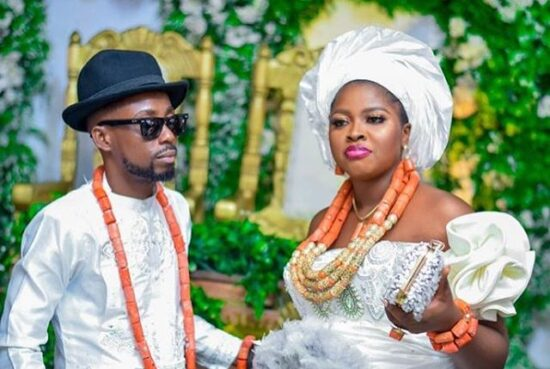 Erigga pens note to his wife, shares photos of their traditional Weddings