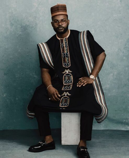 #EndSars: Falz address protesters during protest in Lagos