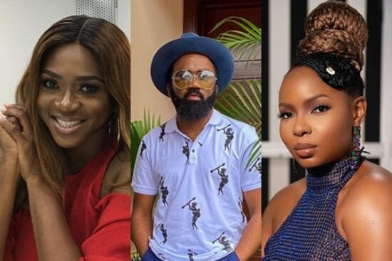 Waje reacts as Noble Igwe says she can sing better than Yemi Alade