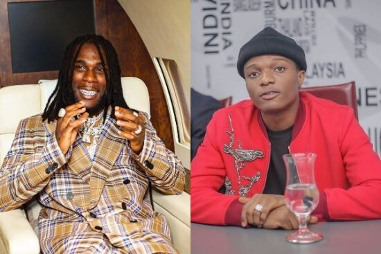 Burna Boy reacts after being dragged for allegedly shading Wizkid