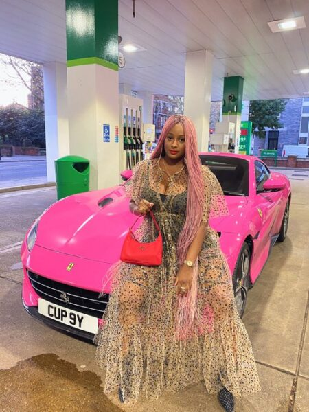 DJ Cuppy treats herself to expensive Jewellery ahead of 28th birthday