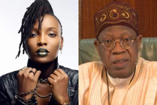 DJ Switch slams Lai Mohammed after he attacks her for peddling Fake news (1)