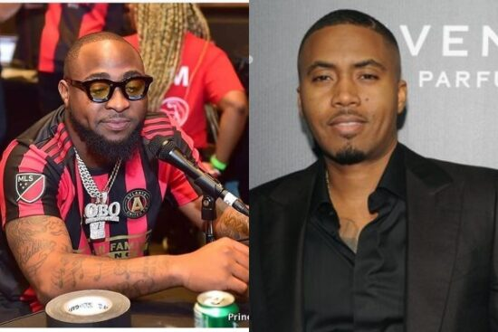 Davido reveals how his collaboration with American Rapper, NAS came to be