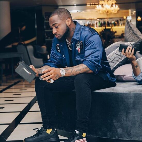 Moment 30 billion gang treated Davido to an early morning surprise on his 28th birthday