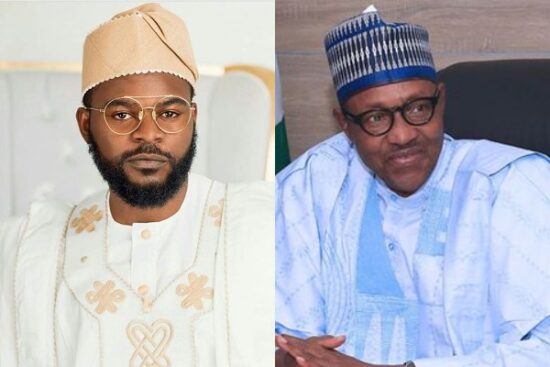 Falz reacts to Buhari's tweet on security issues happening in the South-East