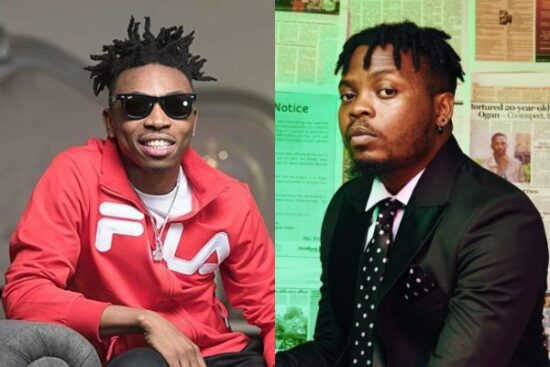 Mayorkun reacts after fan compared him to Olamide