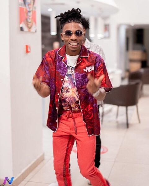 Mayorkun mourns the death of his adorable pet dog