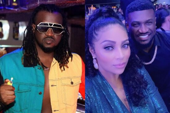Rudeboy calls out his brother, Mr P's wife, Lola Omotayo