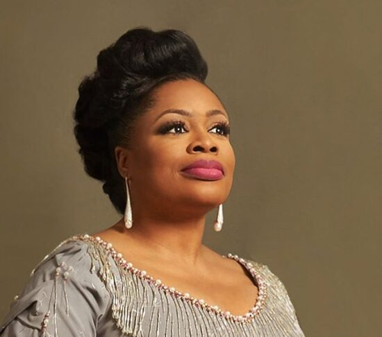 Sinach celebrates as Waymaker wins Song of the Year at the 2020 Dove Awards