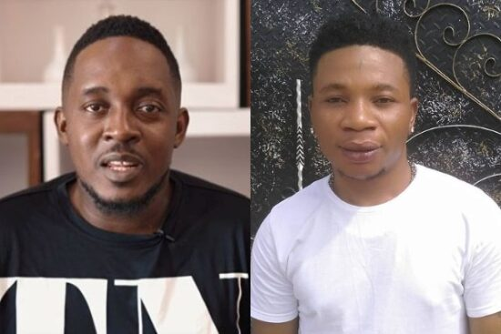 M.I Abaga reacts as Vic O challenges him to a rap battle