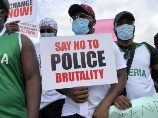 Celebrities joining EndSars Protests