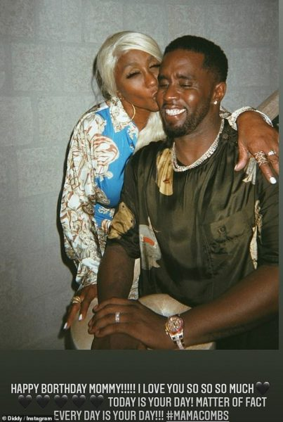 Diddy surprises mom with a Bentley and Money for her 80th birthday