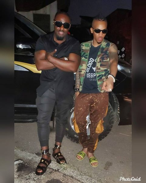 Jim Iyke involved in an accident while on his way to Tekno's music video shoot