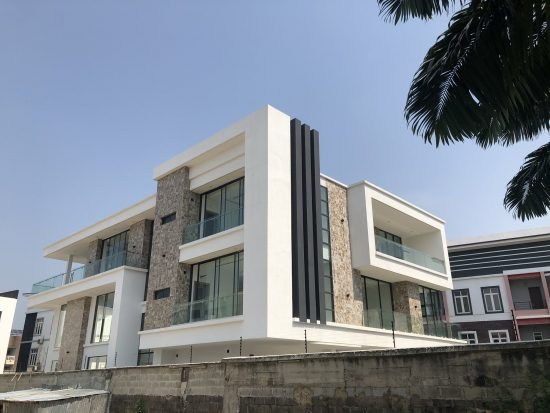 Jude Okoye shows off his new mansion