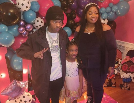 Lil Baby throws a birthday party for George Floyd's daughter, Gianna