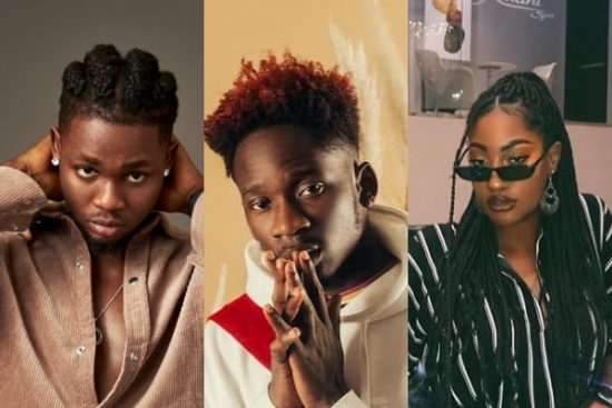 Mr Eazi reveals Omah Lay and Tems have been released