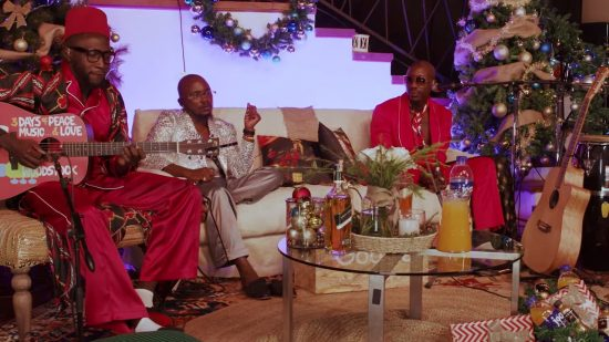 "Sauti Sol delivers awesome Performance in ""A Sol Christmas"""