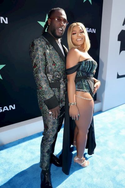 Stefflon Don reacts to allegations of Burna Boy cheating on her