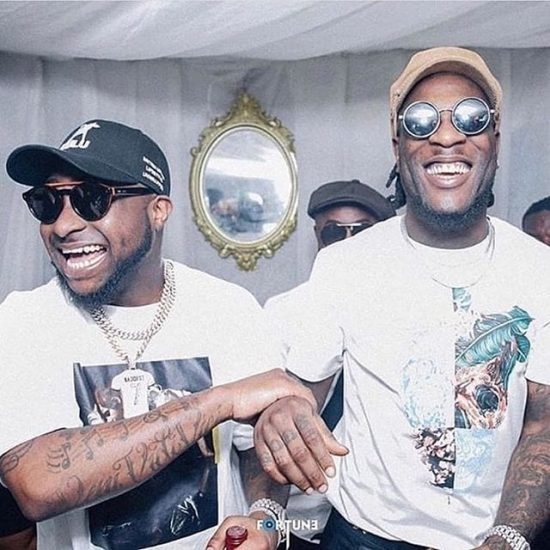 Twitter reacts to Burna Boy and Davido's alleged fight in Ghana