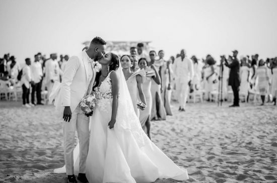 Adekunle Gold and Simi celebrate two years wedding anniversary