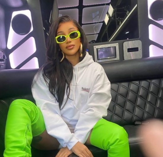 Cardi B complains of the amount she spends on COVID-19 tests