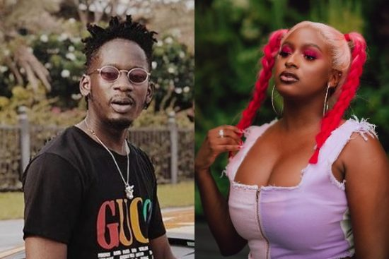 DJ Cuppy reacts as Mr Eazi reveals he has a man for her