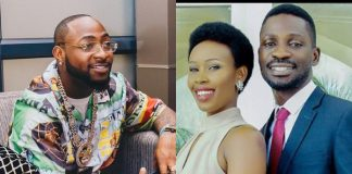 Davido reacts to Bobi Wine's wife being assaulted by Ugandan Police