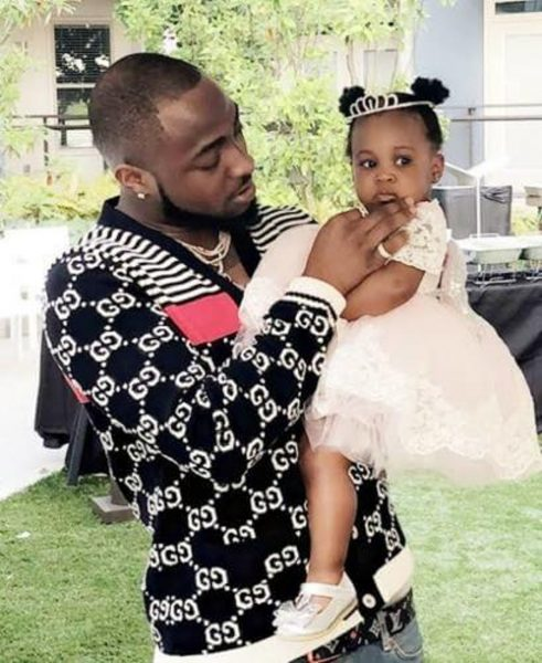 Davido's 2nd Daughter, Hailey shows off her expensive Rolex watch