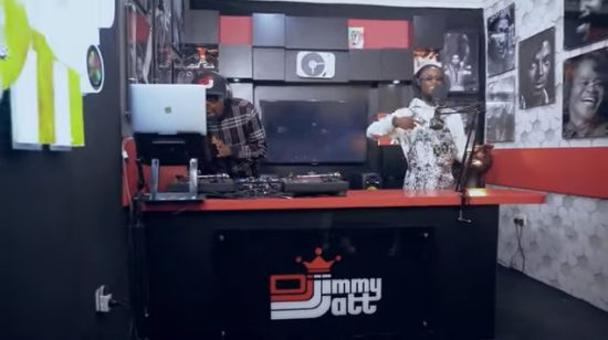Laycon addresses critics with his freestyle on Jimmy's Jump Off