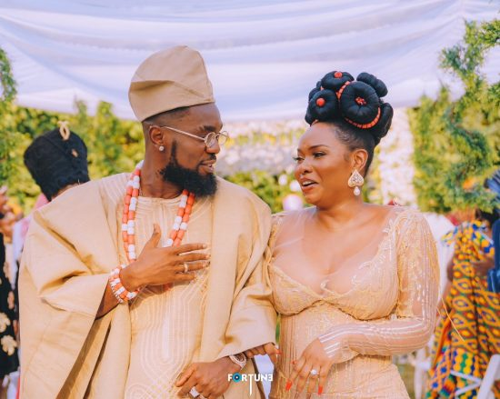Patoranking and Yemi Alade get fans talking with Wedding photos