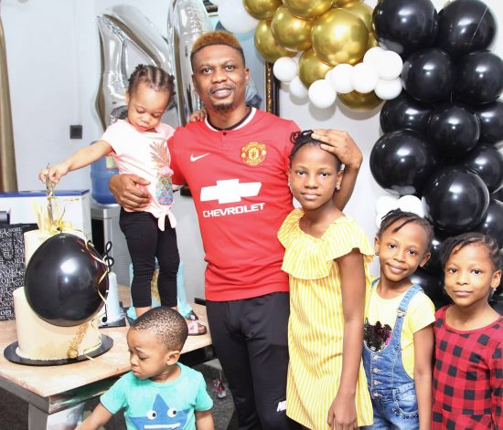 Reminisce surprised by Friends and Family on his 40th birthday