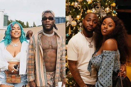 Top Nigerian Artists and their celebrity girlfriends/Wives