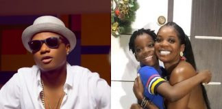 Wizkid's baby mama, Shola, calls out ladies sending nudes to their 9-year-old son, Tife