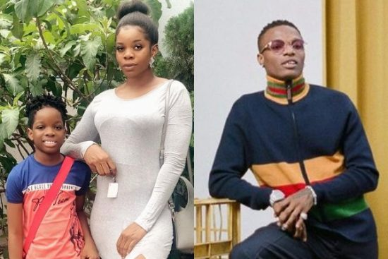 Wizkid's baby mama shares the DMs and nude photos sent to her son's instagram account