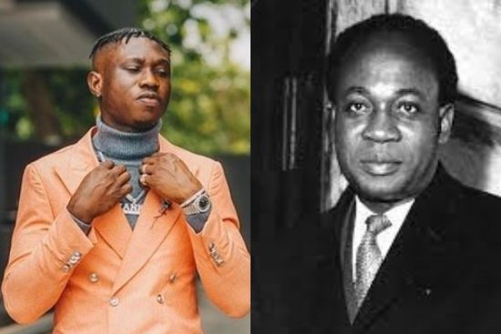 Zlatan tattoos first President of Ghana, Dr Kwame Nkrumah on his body