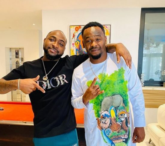 Zubby Micheal excited as he meets up with Davido