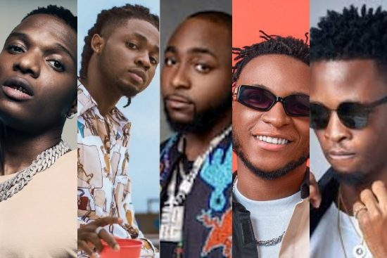 5 Nigerian Artistes with special recognitions in the first week of January