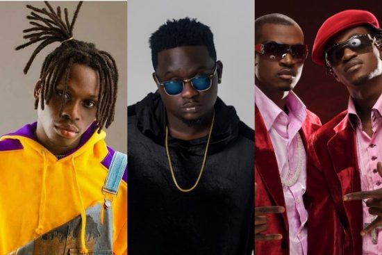 #14thHeadies: Fireboy DML joins Wande Coal, P-square for the most wins in a single Night